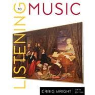 2-CD Set for Wright's Listening to Music, 6th and Listening to Western Music, 2nd