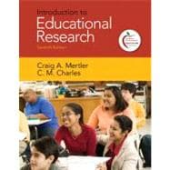 Introduction to Educational Research,9780137013449