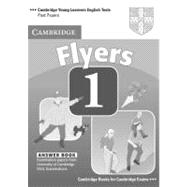 Cambridge Young Learners English Tests Flyers 1 Answer Booklet: Examination Papers from the University of Cambridge ESOL Examinations