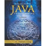 Introduction to Java Programming, Comprehensive Version plus MyProgrammingLab with Pearson eText -- Access Card Package,9780133813463