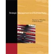 Strategic Management & Business Policy: Achieving Sustainability