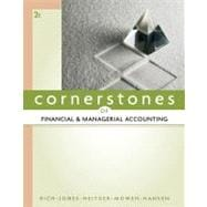 Cornerstones of Financial and Managerial Accounting,9780538473484