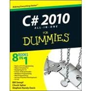 C# 2010 All-in-One For Dummies, 9780470563489  