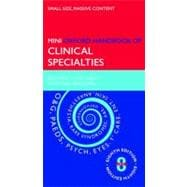 Oxford Handbook of Clinical Specialties - Mini edition, 9780199583492  