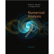 Numerical Analysis,9780538733519