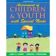Assessment of Children and Youth with Special Needs, 9780205493531