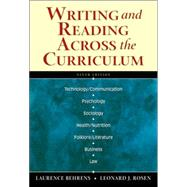 Writing and Reading Across the Curriculum (with MyCompLab)