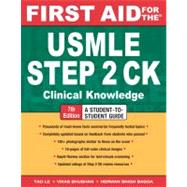 First Aid for the USMLE Step 2 CK : Clinical Knowledge