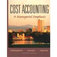 Cost Accounting and Student CD Package