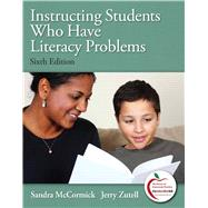 Instructing Students Who Have Literacy Problems,9780137023585