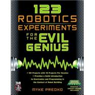 123 Robotics Experiments for the Evil Genius, 9780071413589