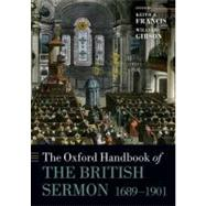 The Oxford Handbook of the Modern British Sermon 1689-1901,9780199583591