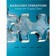 Loose-leaf Managing Operations Across the Supply Chain,9780077403621