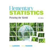 Elementary Statistics : Picturing the World,9780321693624