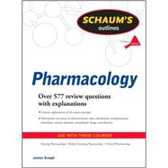 Schaum's Outline of Pharmacology, 9780071623629  