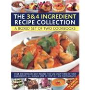 3 and 4 Ingredient Recipe Collection : A Box Set of Two Cook..., 9780754823629  