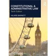 Constitutional and Administrative Law,9780415623650