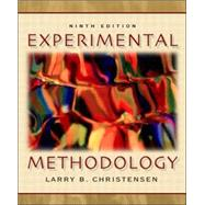 Experimental Methodology, 9780205393695