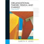 Organizational Theory, Design, and Change,9780131403710