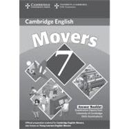 Cambridge Young Learners English Tests 7 Movers Answer Booklet: Examination Papers from University of Cambridge ESOL Examinations