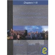 Introduction to Management Accounting : Chapters 1-15