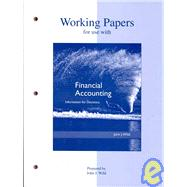 Working Papers to accompany Financial Accounting,9780073043760