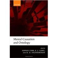 Mental Causation and Ontology,9780199603770