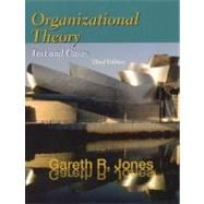Organizational Theory Text & Cases (3rd Ed),9780130183781