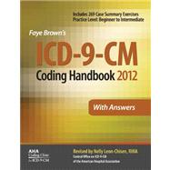 ICD-9-CM Coding Handbook, with Answers, 2012 Revised Edition,9781556483806