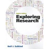 Exploring Research, 9780205093816