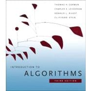 Introduction to Algorithms, 9780262033848  