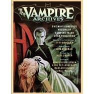 The Vampire Archives,9780307473899