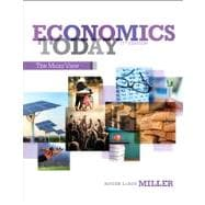 Economics Today The Micro View Plus NEW MyEconLab with Pearson eText -- Access Card Package,9780133403916