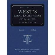 West's Legal Environment of Business (with Online Business Guide),9780324303919