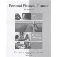 Personal Financial Planner to Accompany Personal Finance,9780073363929