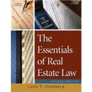 The Essentials of Real Estate Law for Paralegals,9781418013929