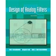 Design of Analog Filters 2nd Edition,9780195373943