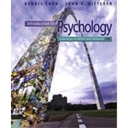 Introduction to Psychology, 9781133793946