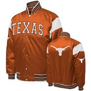 Texas Longhorns Orange Nylon Satin Jacket