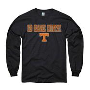 Tennessee Volunteers Youth Black Lingo Long Sleeve T-Shirt