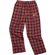 Utah Utes Cardinal Empire Flannel Pants