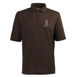 Brown Bears Brown Pique Extra Light Polo Shirt