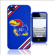 Kansas Jayhawks Logo 3D Silicone iPhone 4/4S Case