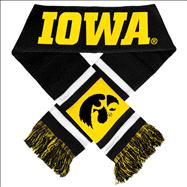 Iowa Hawkeyes Stripe Scarf