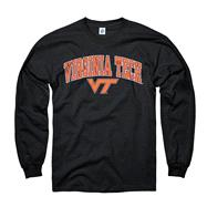 Virginia Tech Hokies Youth Black Perennial II Long Sleeve T-Shirt