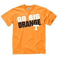 Tennessee Volunteers Tenn Orange Youth Slogan T-Shirt