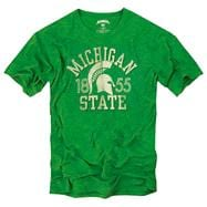 Michigan State Spartans '47 Brand Vintage Scrum Tee