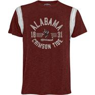 Alabama Crimson Tide '47 Brand Scrum Chopblock Jersey Tee