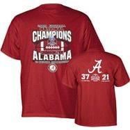 Alabama Crimson Tide 2009 BCS National Champions Red NC Tee