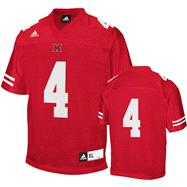 Miami University Redhawks Football Jersey: adidas #4 Red Replica Football Jersey